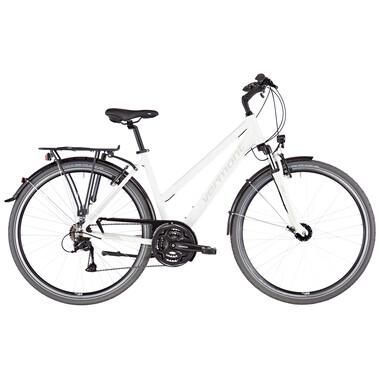 Vélo de Voyage VERMONT BRENTWOOD TRAPEZ Femme Blanc 2020